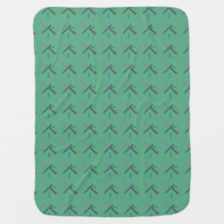 PDX Airport Carpet Stroller Blankets