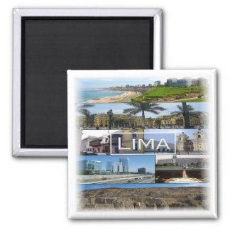 PE * Lima - Peru Magnet