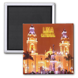 PE - Peru -  Lima - Cathedral Magnet