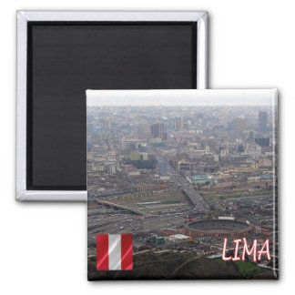 PE - Peru - Lima - Panorama Magnet