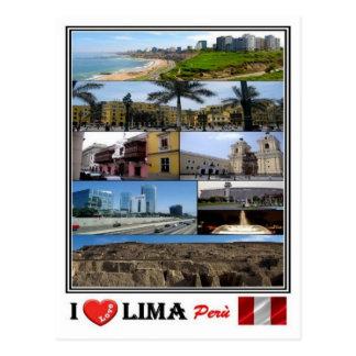 PE - Perù - Lima - Postcard