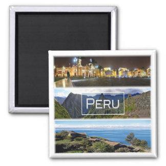PE * Peru Magnet