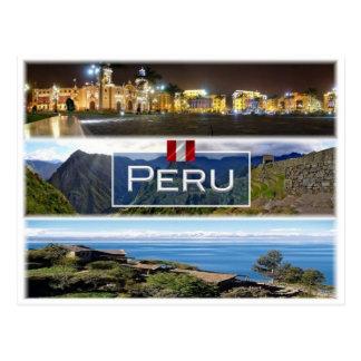 PE Peru - Postcard