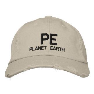 PE  - Planet Earth Baseball Cap