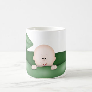 PEA IN A POD Baby Shower Coffee Mug Cup