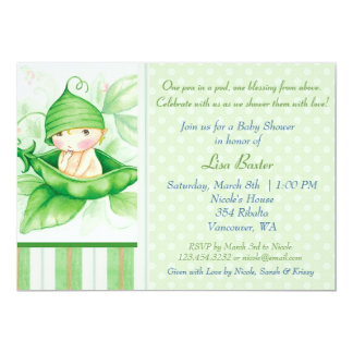 Pea in a pod card