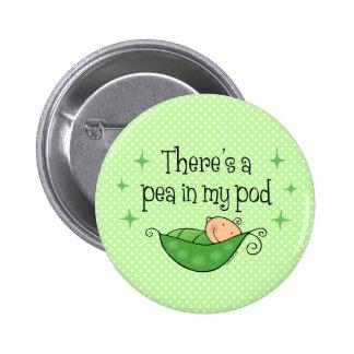 Pea in My Pod Button