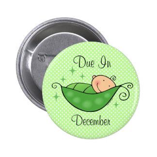 Pea in My Pod Personalized Button