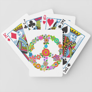peace10 bicycle playing cards