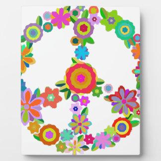 peace10 plaque
