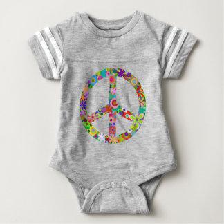 peace11 baby bodysuit