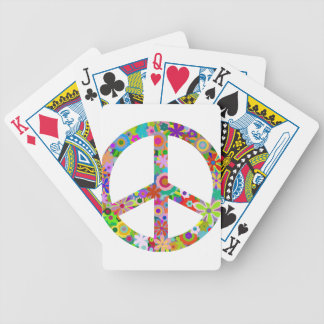 peace11 bicycle playing cards