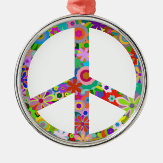 peace11 metal ornament