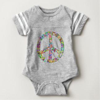 peace12 baby bodysuit
