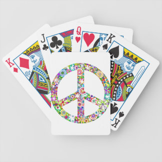peace12 bicycle playing cards