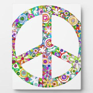 peace12 plaque