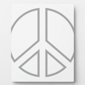 peace13 plaque