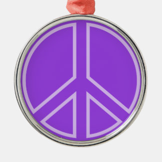 peace14 metal ornament