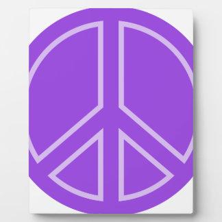 peace14 plaque