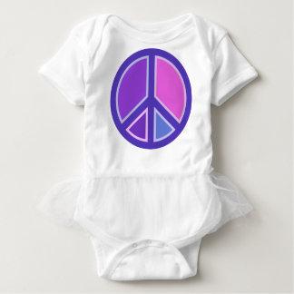 peace15 baby bodysuit