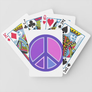 peace15 bicycle playing cards