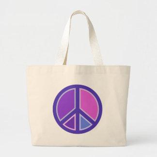 peace15 large tote bag