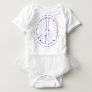 peace16 baby bodysuit