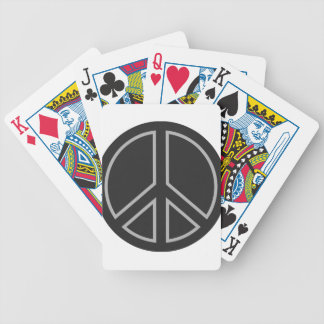 peace17 bicycle playing cards