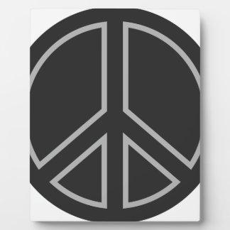 peace17 plaque