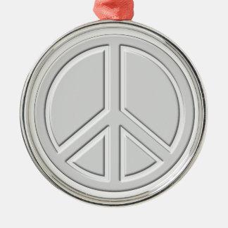 peace18 metal ornament