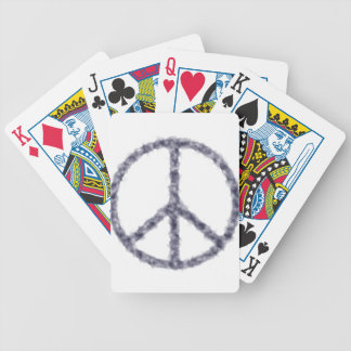 peace19 bicycle playing cards