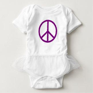 peace20 baby bodysuit
