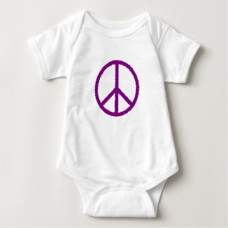 peace20 baby bodysuit
