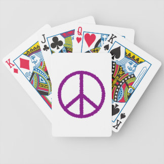 peace20 bicycle playing cards