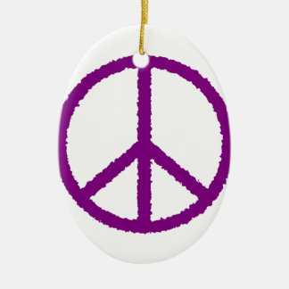 peace20 ceramic ornament