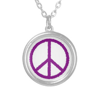 peace20 silver plated necklace