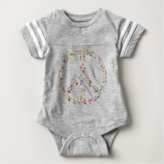 peace21 baby bodysuit