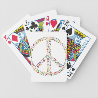peace21 bicycle playing cards