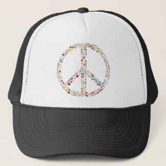 peace21 trucker hat