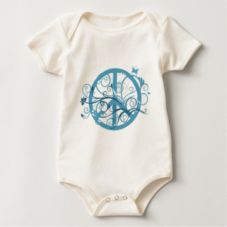 peace22 baby bodysuit
