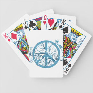 peace22 bicycle playing cards