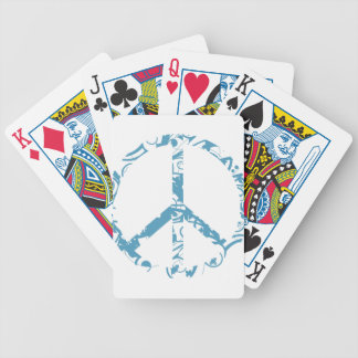 peace23 bicycle playing cards