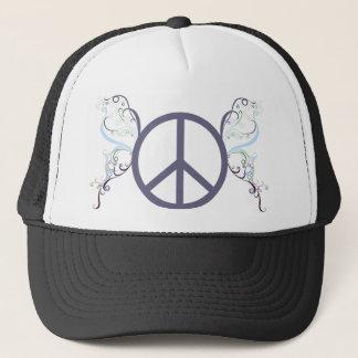 peace4 trucker hat