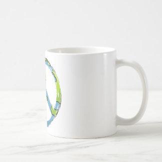 peace6 coffee mug