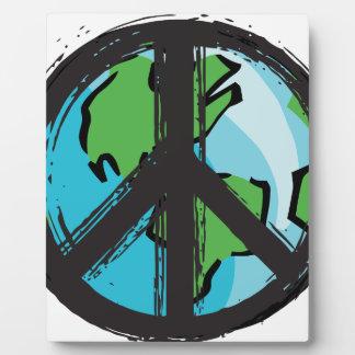 peace7 plaque