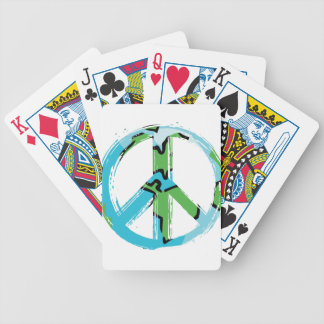 peace8 bicycle playing cards