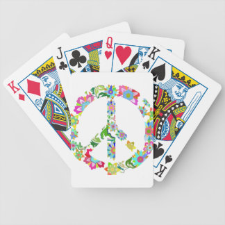 peace9 bicycle playing cards