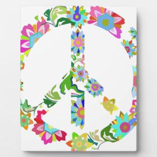 peace9 plaque