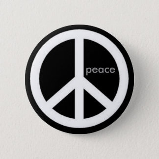 peace. 2 inch round button