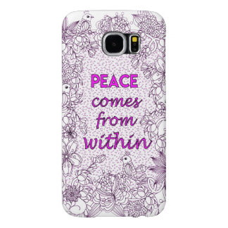 Peace 2 samsung galaxy s6 cases